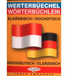 Mini-dico bilingue alsacien/allemand allemand/alsacien