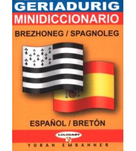 Mini-dico bilingue  breton/espagnol espagnol/breton