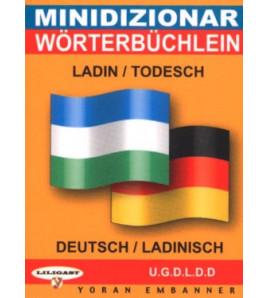 Mini-dico bilingue  ladin/allemand allemand/ladin