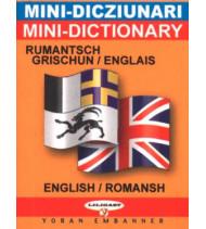 Mini-dico bilingue  romanche/anglais anglais/romanche
