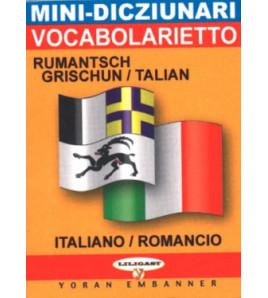 Mini-dico bilingue  romanche/italien italien/romanche
