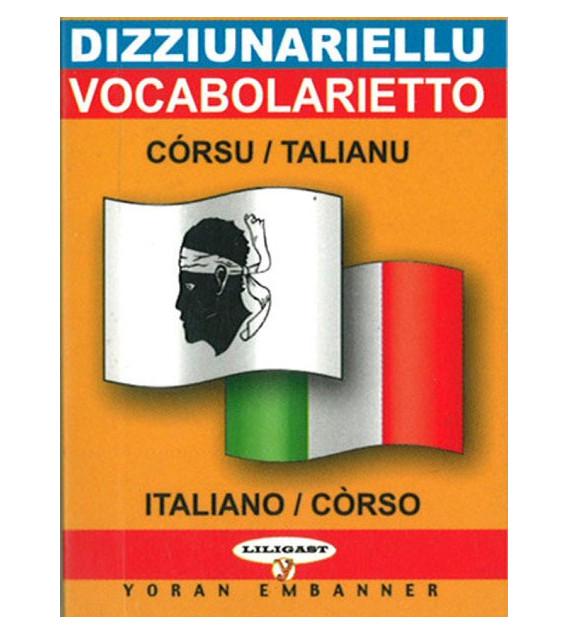 Mini-dico bilingue  corse/italien italien/corse