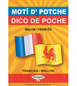 Dico de poche bilingue  wallon/français français/wallon
