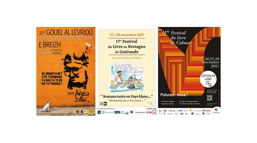 Yoran Embanner et la rentrée littéraire : salons et nouveautés